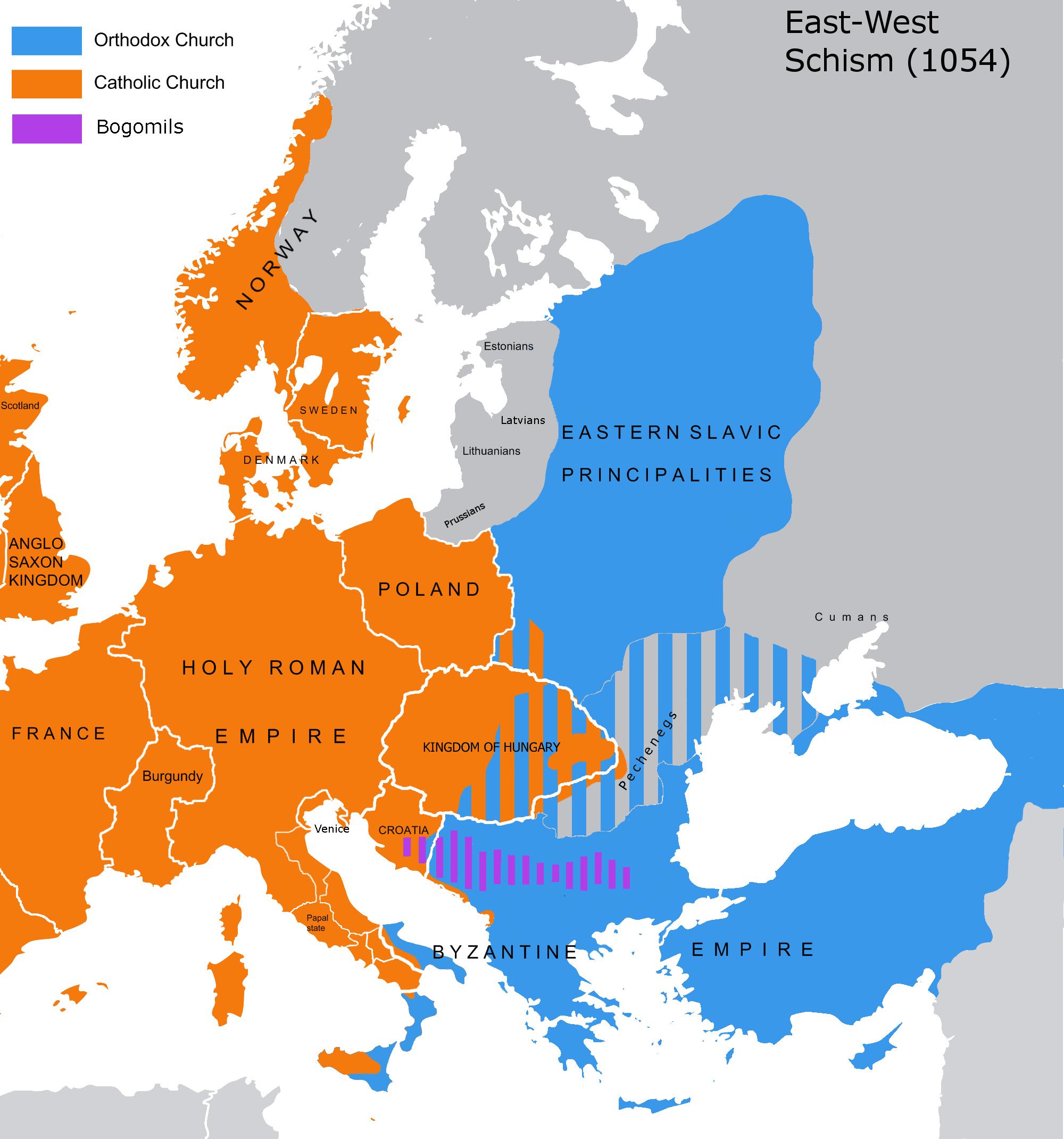 byzantium versus western europe essay